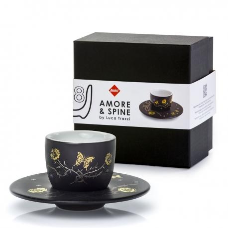 1 tazzina da espresso MOU Amore e Spine 08