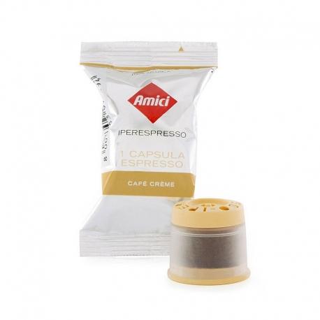 100 capsules MIE Café Crème in Singlepacks