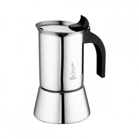 Moka Venus 4 tasses, adapté à la cuisinière à induction