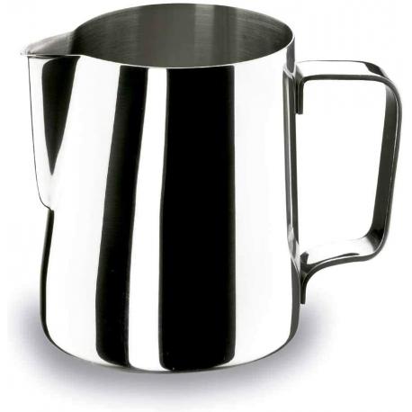 Lattiera in acciaio inox per 1 tazza