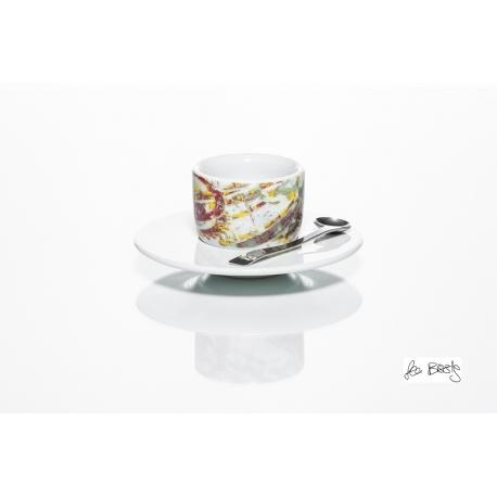 MOU Uhrwerk, 1 Espressotasse