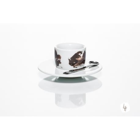 MOU Kaffee und Musik, 1 Espressotasse