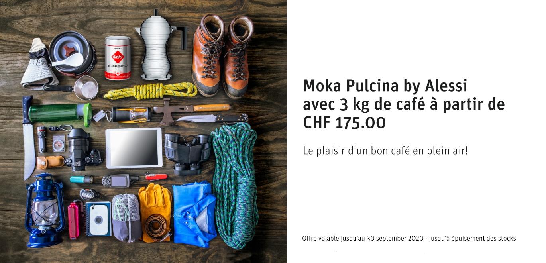 Offre Moka Pulcina by Alessi